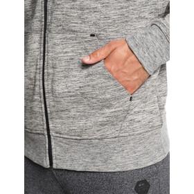 Quiksilver Yattemi Felpa pile con zip Uomo, grigio